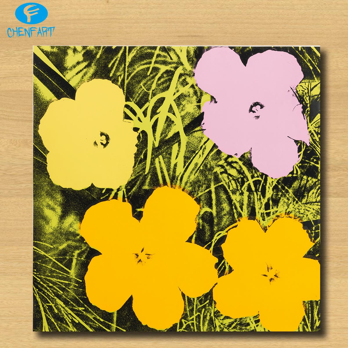 Huge FLOWERS (F. & S. II.69) by Andy Warhol pop art print Wall ...