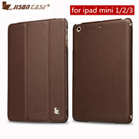 Jisoncase Brand Hot Sale Top For IPad Mini Retina Case Smart Cover IOS 7 With 7