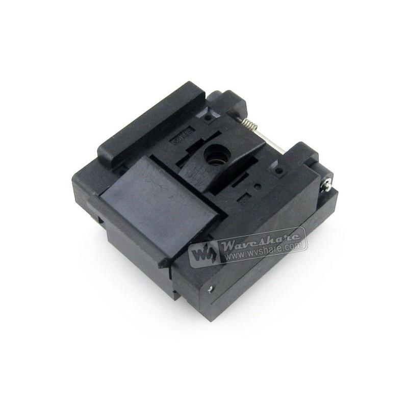 module QFN32 MLP32 MLF32 QFN-32(40)B-0.65-02 Enplas QFN 7x7 mm 0.65Pitch IC Test Burn-In Socket rtm885n 914 qfn