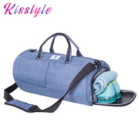2018 Waterproof Gym Weekend Bag with Shoe Compartment Multifunction Men Travel Duffle Bags Large Capacity Carry on Luggage Bag