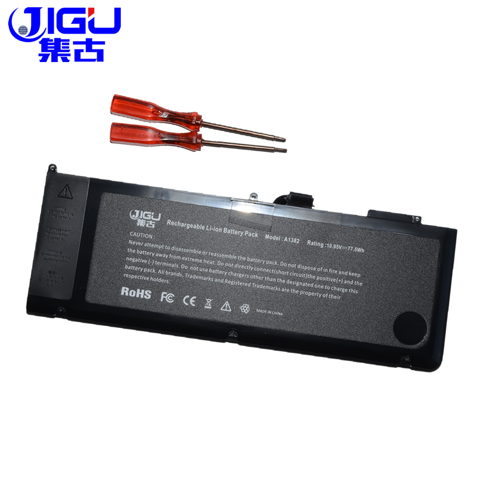 JIGU New Battery A1382 020-7134-A 661-5844 For MacBook Pro 15