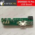 Doogee f3 pro usb placa de 100% original novo carregamento de substituição assembléia reparação parte acessórios para doogee f3 telefone móvel