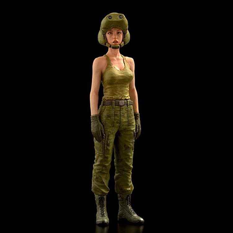 Detail Feedback Questions about 1/35 Scale fantasy Female driver