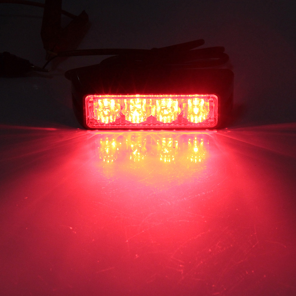 Free Shipping caution flashlight High quality Strobe Signal Light red Hazard Emergency Photoflash Lamp LED car styling light ...