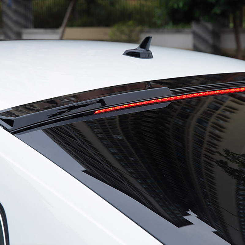 lsrtw2017 carbon fiber abs car roof spoiler for volkswagen arteon 2017 2018 2019 styling