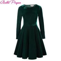 Autumn Plaid Dress 3 4 Sleeve Lapel Grid Pattern Tunic Women Plus Size Clothing Casual Picnic