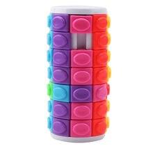 Utile di Decompressione Cubo Magico Mano di Spin Anti-stress FAI DA TE  Cilindro Puzzle Kid Istruzione Toy Kid Prodotti f3e4c90b62c4