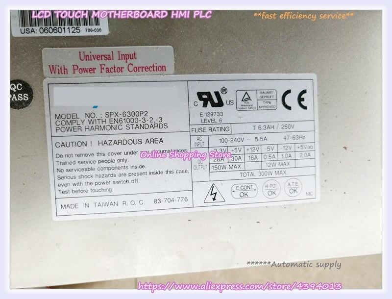 For SPX-6300P2 300W power supply 2U server power supply