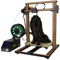 (Корабль из DE) 2 цвета DIY 3D принтеры комплект 300*300*400 мм печати Размеры с двойной Z стержень свинца двигателя нити детектор