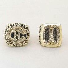 Precio de fábrica envío de La Gota de Un Conjunto (2 unids) 1986 1993 MONTREAL CANADIENS NHL Stanley Cup Anillo de Campeón