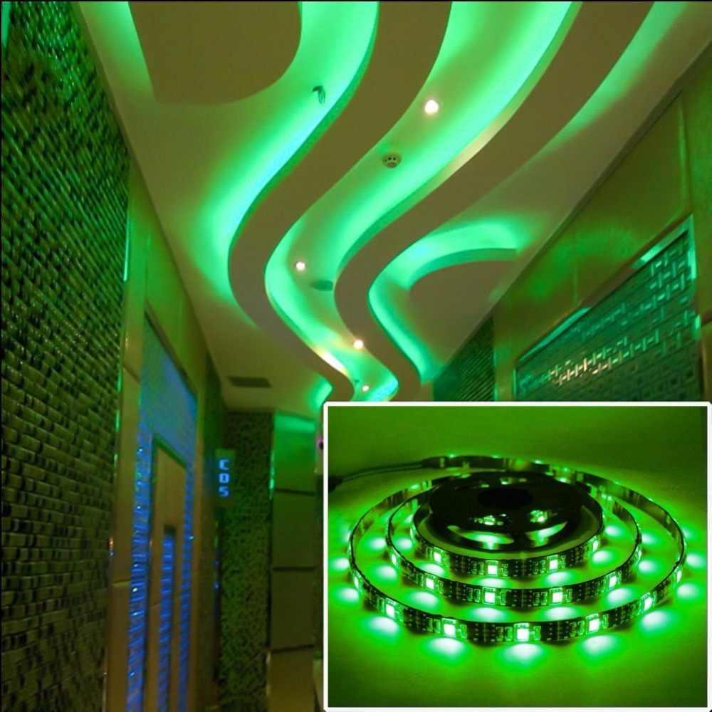 Fabulous LED strip 5050 RGB 12V 120LEDs/m 1M 5M black PCB 600 LED Stripe GX97