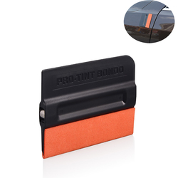 EHDIS Elastic Suede Felt Magnet Squeegee Vinyl Film Car Wrap Foil Ice Scraper Car Stying Sticker Glue Remover Window Tints Tool