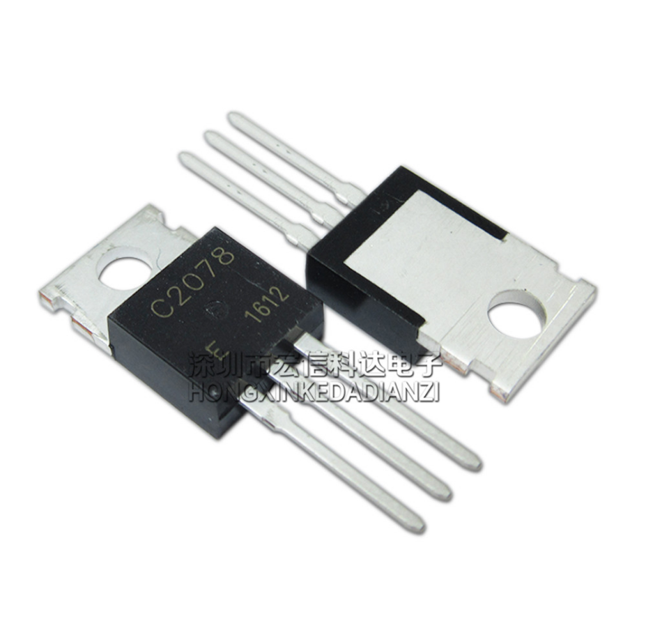 10PCS C2078 TO220 2SC2078 TO-220 2078 3A 80V
