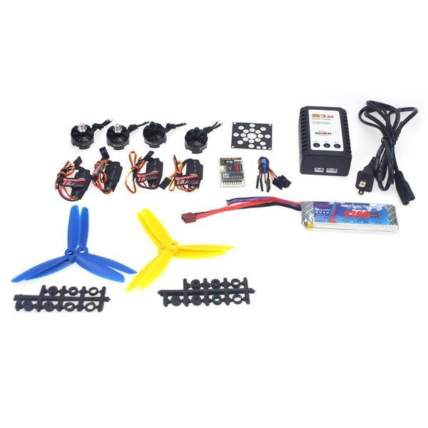 RC Helicopter Kit KV2300 Brushless Motor+12A ESC+QQ Super Flight Control+FC5x4.5 Propeller for 250 Helicopter F12065-G ahd 2 0megapixel cctv camera module pcb low illumination 0 001lux osd cable dc12v cvbs 2000tvl 3d noise reduction