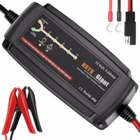 NRYK Giant 7 Stage 12V 5A Smart Car Battery Charger Desulfator Maintainer For Vehicle Solar System