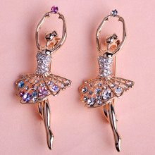 Ballet Dancer Ballerinas Brooches