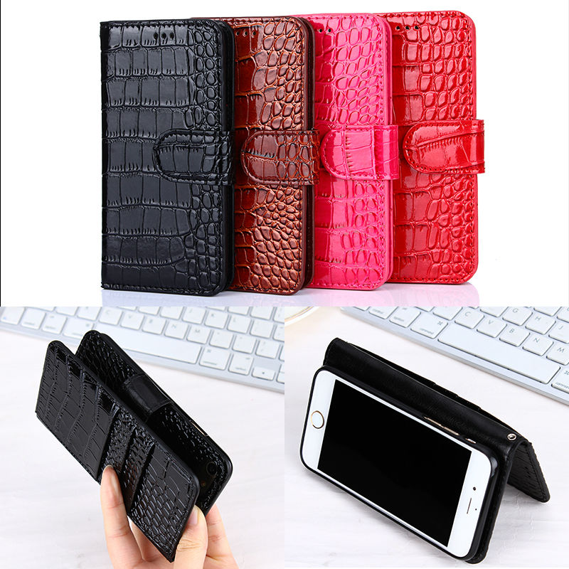 Luxury <font><b>Crocodile</b></font> <font><b>Leather</b></font> Pattern <font><b>Case</b></font> <font><b>for</b></font> <font><b>LG</b></font> <font><b>Ray</b></font> <font><b>Flip</b></font> Wallet Cover with Soft Silicone Back Cover <font><b>for</b></font> <font><b>LG</b></font> X190 Phone Fundas