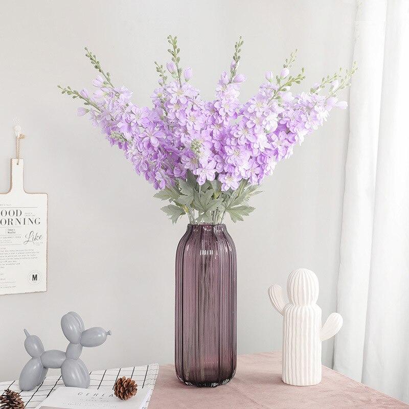 2019 nouvelle longue tige en soie fleur fleurs artificielles de mariage fête décoration flores fleur artificielle