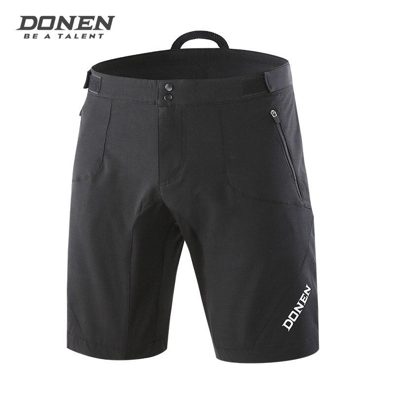 Летние мужские велосипедные шорты DONEN, шорты для горного велосипеда, свободные шорты для спорта на открытом воздухе, для езды на велосипеде, ... - 2