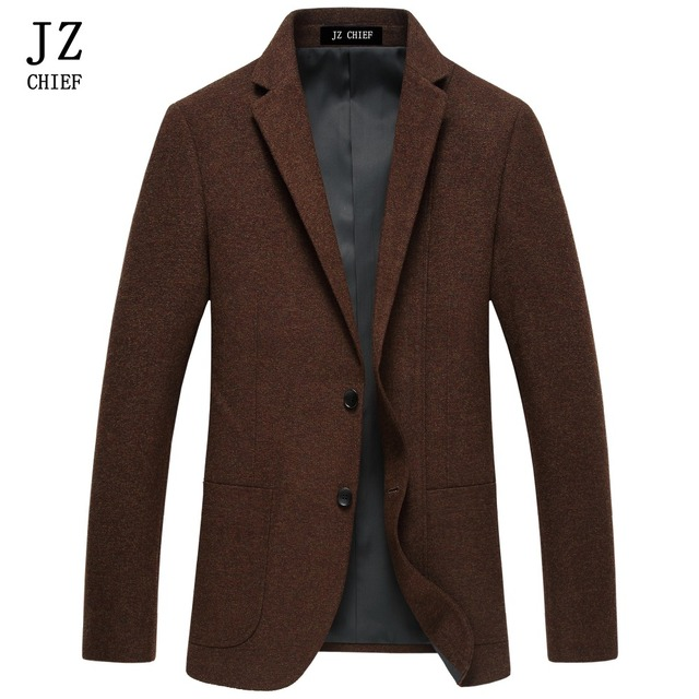 Aliexpress.com : Buy JZ CHIEF Men Blazer Tweed Jackets Casual Suit ...