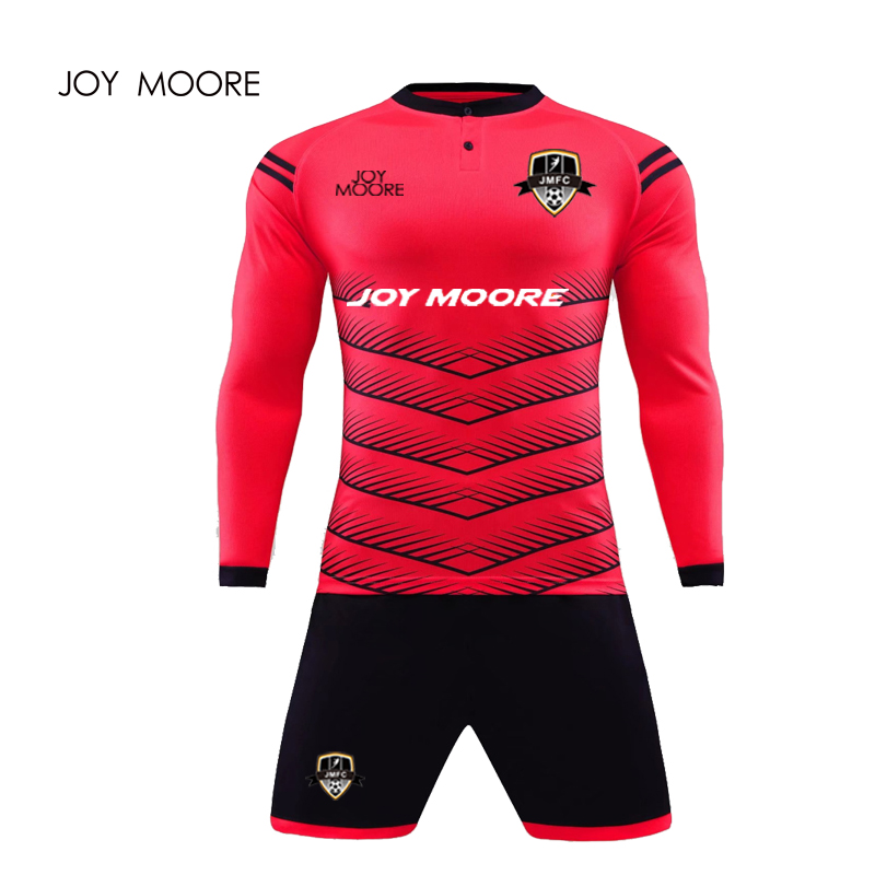 6e09fef1b High Quality Cheap Soccer Uniform Sublimation Printing New Model football  jersey goalkeeper uniform image