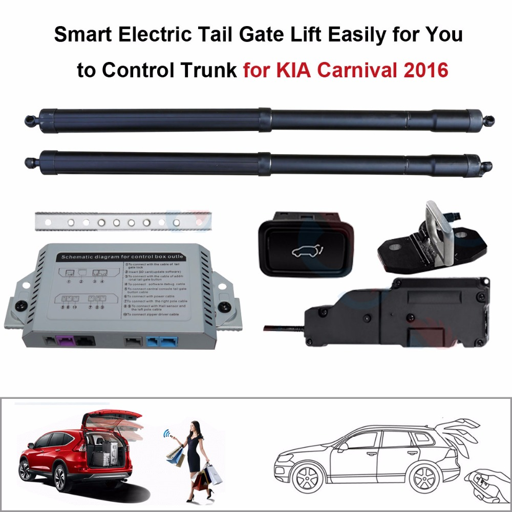 Electric Tail Gate Lift for KIA Carnival 2016 Control by Remote