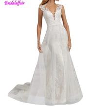 2018 Women Wedding Dress Lace Bridal Dresses for Bride Mermaid dresses vestidos de novia wedding dress big size