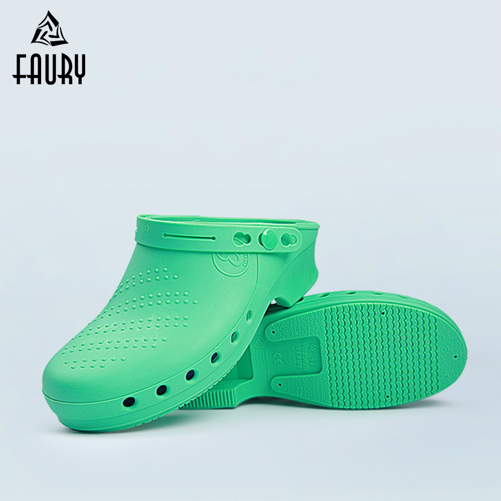 Surgical Shoes Medical Slipper Doctor Nurse Shoes Anti-Skid Wear-Resistant TPE High Temperature Anti-Acid Shoes Protective Shoes