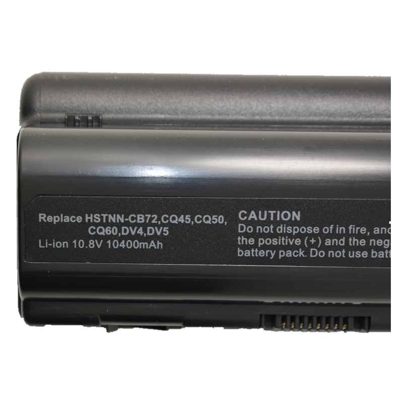 HSW 10400MAH battery for HP COMPAQ Pavilion DV4 DV5 DV6 HSTNN IB72 HSTNN UB72 PresarioCQ60 CQ61 CQ40 CQ41 CQ45 CQ50 CQ70 CQ71 in Laptop Batteries from Computer Office
