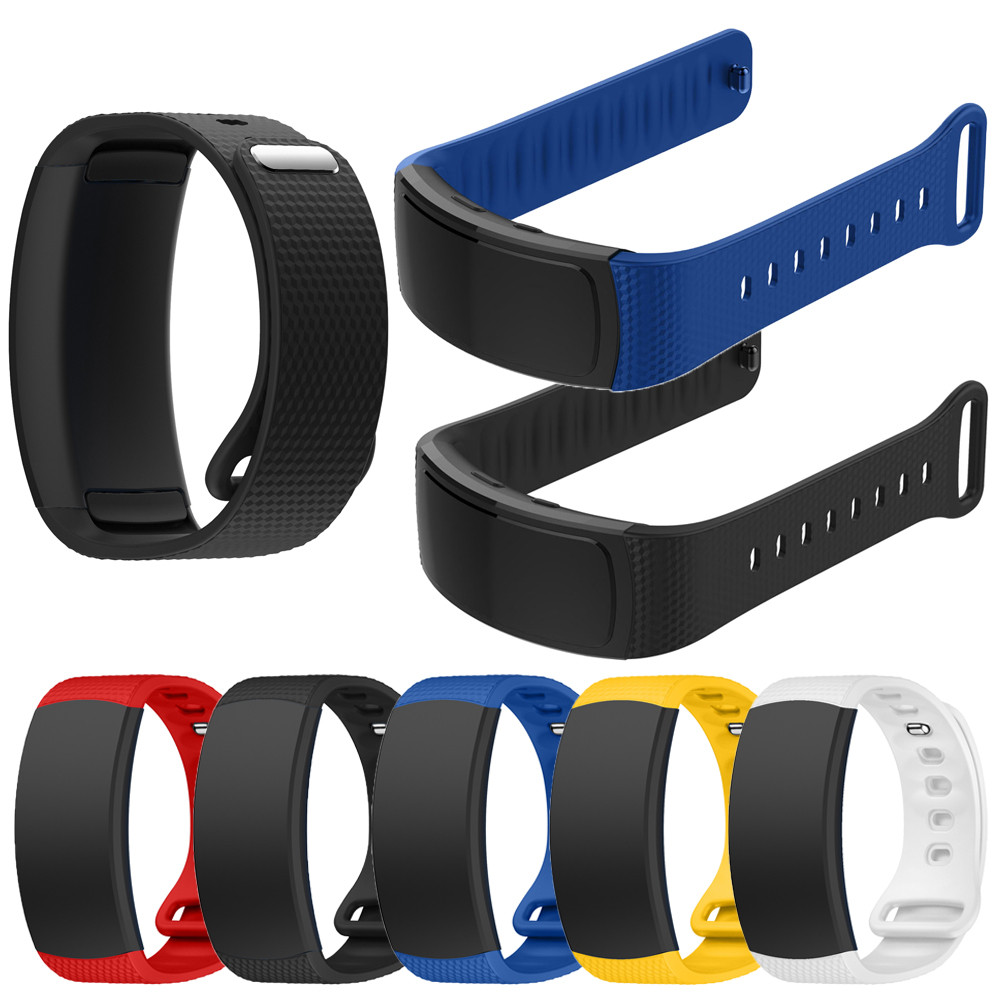 Smart watch strap Soft Silicone Replacement Band Sport Strap For Samsung Gear Fit2 Pro Fitness watch band #1212