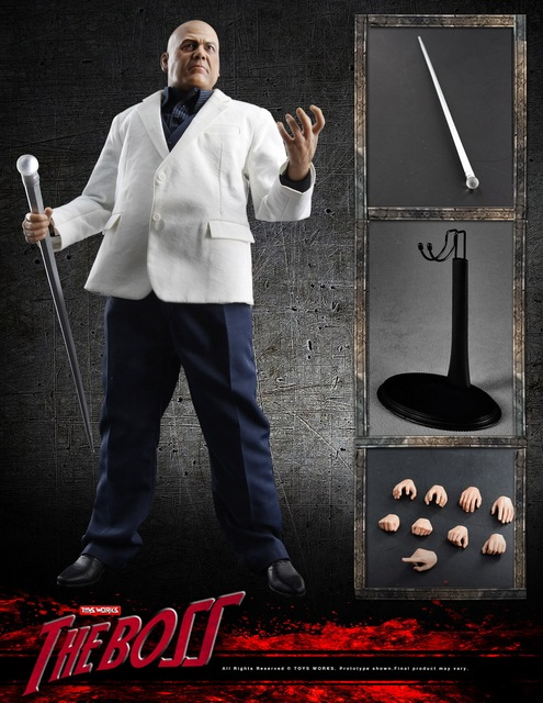 In Stock 1/6 Scale Toys Works Wilson Grant Fisk Kingpin