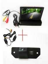 Камера заднего вида беспроводной цветной пзс чип для форд фокус седан ( 3 вагонов ) форд C — max + 4.3 дюймов складная жк-монитор