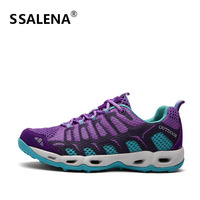 Light Running Trainers Shoes For Men Comfortable Mesh Soft Sole Anti Slip Sports Shoes Male Outdoor Low Sneakers AA11092