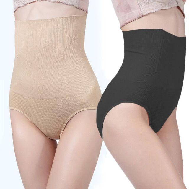 d00d8f3a338 Women Shapewear Seamfree High Waist Slimming Control Briefs Tummy Tuck Bum  Lift Control Panties