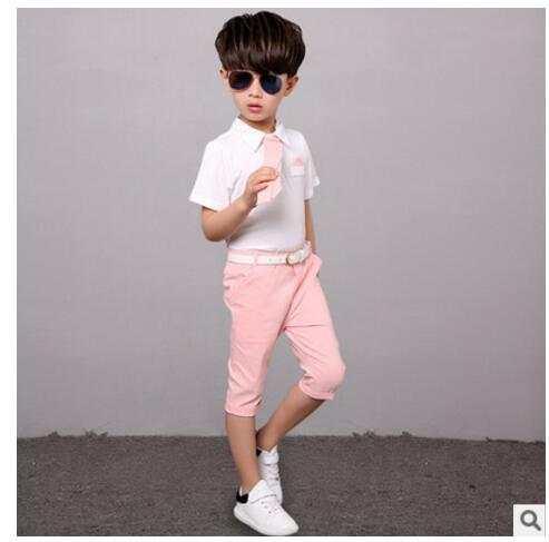 1f9041183c280 2016 Children s suits baby boy suit suit dress suit shirt tie + pants suit