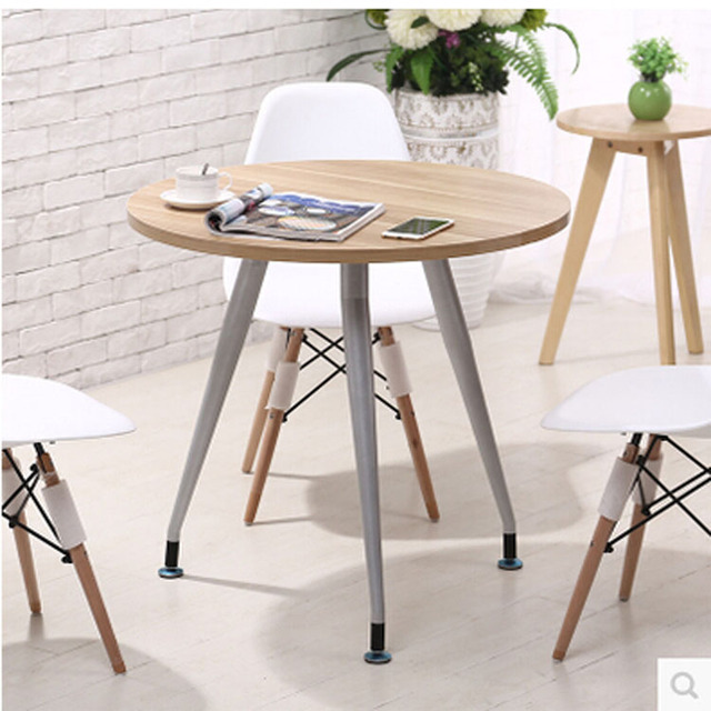 Fair Guest Reception Desk Roundtable Leisure Furniture Combination Dining Table Small Coffee Office Conference Meeting