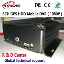 Factory wholesale price direct GPS track local video playback monitoring host AHD 8CH hard disk Mobile DVR цена в Москве и Питере