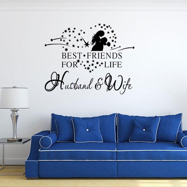 AW9512 Englisch Sprüche geliebten Diskurs Wand Familie und Liebe ...