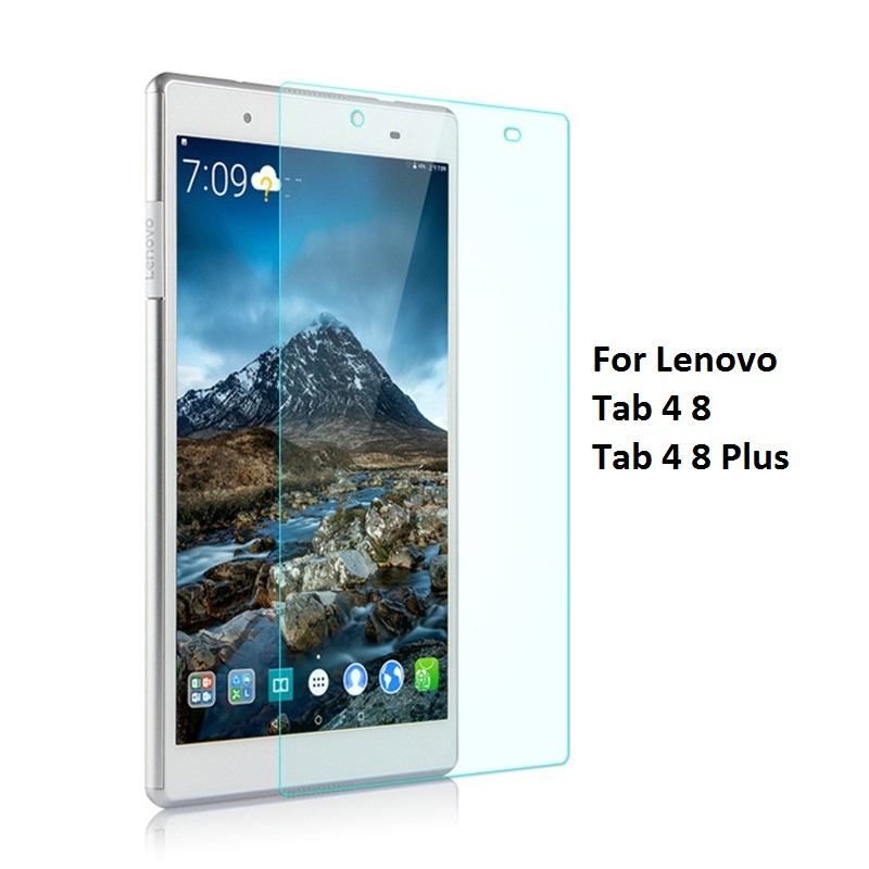 Tablet Tempered Glass Screen Protector Cover For Lenovo Tab 4 8 Plus