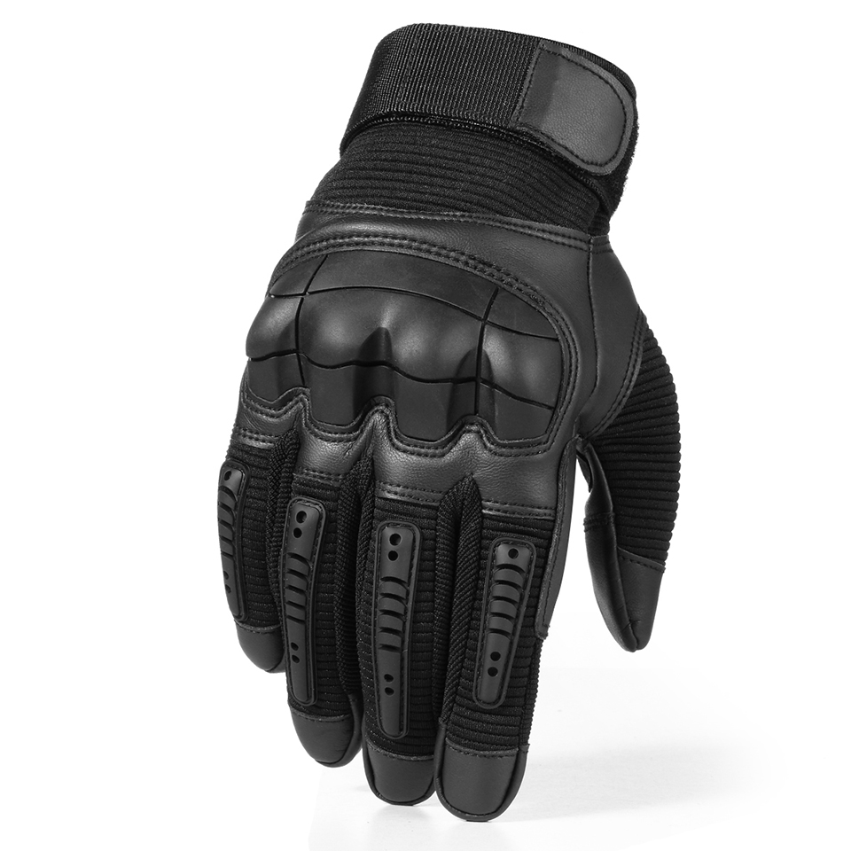 HTB12KQiQmzqK1RjSZFHq6z3CpXao - Touch Screen Leather Motorcycle Gloves Motocross Tactical Gear Moto Motorbike Biker Racing Hard Knuckle Full Finger Glove Mens