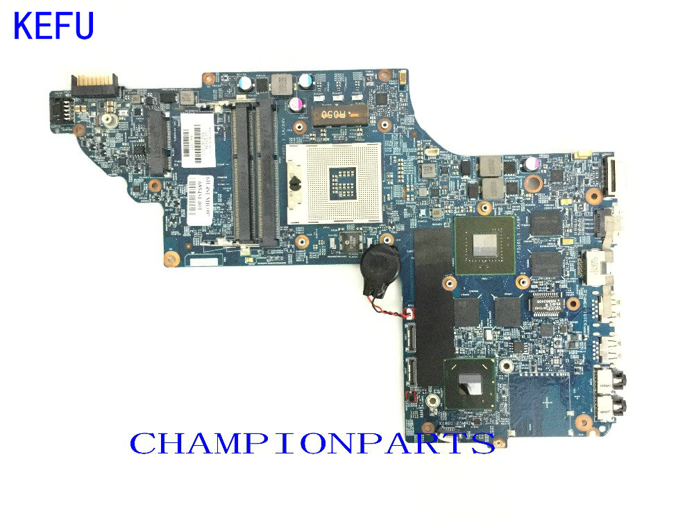 KEFU Free Shipping 682016-501 / 682040-001 Laptop Motherboard For HP PAVILION DV7 DV7T-DV7-7000 NOTEBOOK PC VIDEO  650M/2GB laptop motherboard 574681 001 fit for hp pavilion dv7 3060ca dv7 3000 series notebook pc main board 100% working