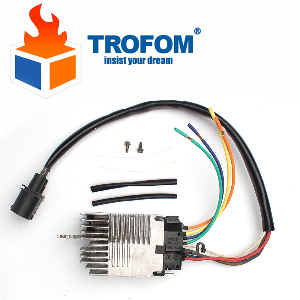 MODULE de commande de ventilateur de radiateur Compatible pour AUDI A4 A4 CABRIO 8E0959501AG 8E0959501AB 8E0959501K 8E0959501B