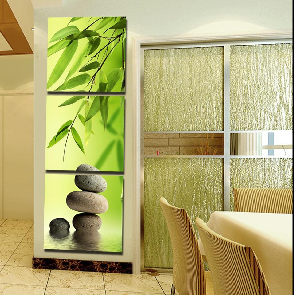 Contemporary Bamboo Sticks Wall Decor Ideas - The Wall Art ...