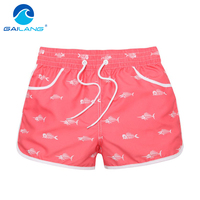 Gailang Brand Women Shorts Casual Summer Beach Shorts Woman Boardshorts Board Boxer Trunks Short Pants 2016