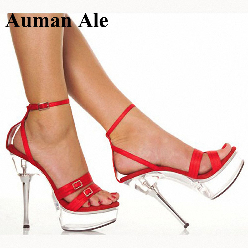 Auman Ale Super High Sandals 5 1/2 Inch Metal diamante Crown heel with satin - Popular 1 Inch High Heel Shoes-Buy Cheap 1 Inch High Heel Shoes