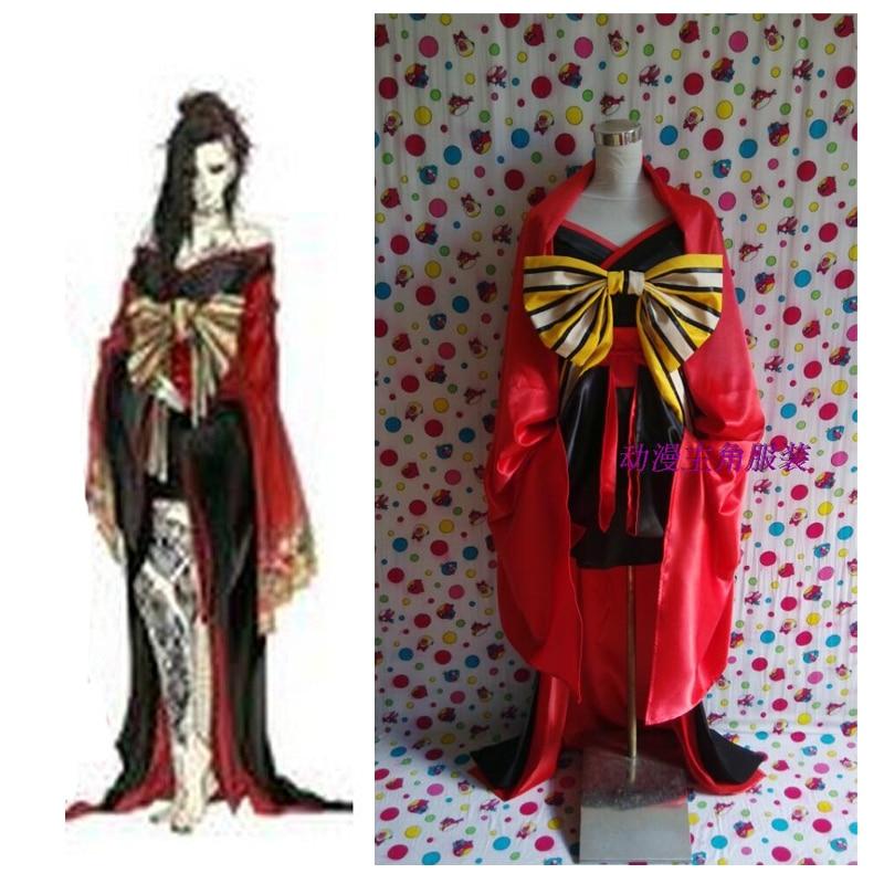 2016 Tokyo Ghoul Uta Cosplay kimono Traditional Cosplay Costumes
