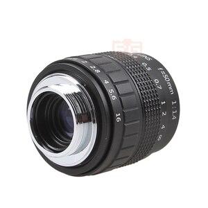 Image 4 - Фуцзянь 50 мм F1.4 CCTV TV Movie lens + C NEX Mount для SONY E Mount NEX3 NEX6 NEX7 A6500 A6300 A6000 A5000