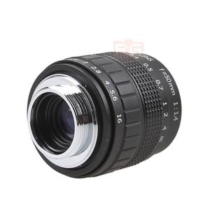 Image 4 - Fujian 50mm F1.4 CCTV TV Movie lens+C NEX Mount for SONY E Mount NEX3 NEX6 NEX7 A6500 A6300 A6000 A5000