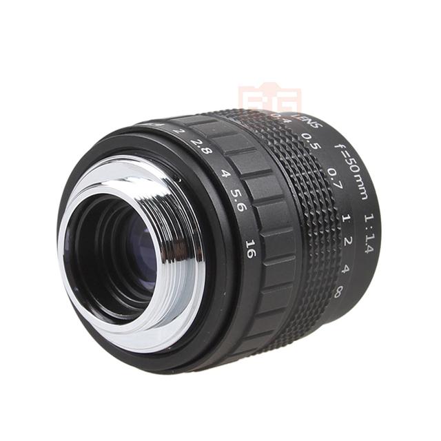 Fujian 50mm F1.4 CCTV TV Movie lens+C-NEX Mount for SONY E Mount NEX3 NEX6 NEX7 A6500 A6300 A6000 A5000