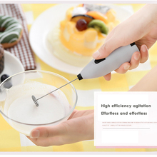 Stainless Steel Electric Handheld Milk Frother Foamer Mixer Coffee Egg White Latte Stirrer цена